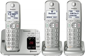 FEATURES Panasonic KX TGE463S Link2Cell Bluetooth Cordless Phone VTech LS6425 3 DECT 60 Expandable ATT CRL82312
