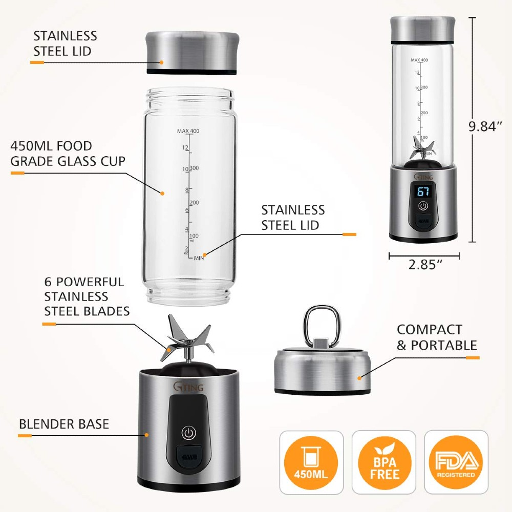 G-ting Personal Smoothies Blender 2