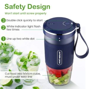 Godmorn Smoothie Blender 4