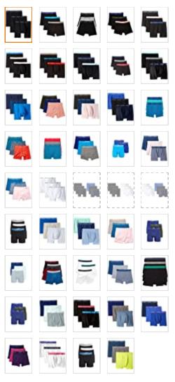 best underwear-calvin klein-colors