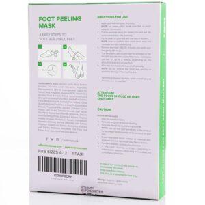 kutemask foot peel mask ingredients